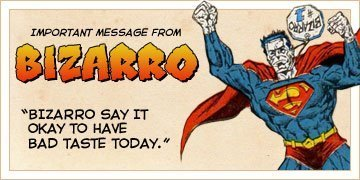 The Bizarro Blog-a-thon